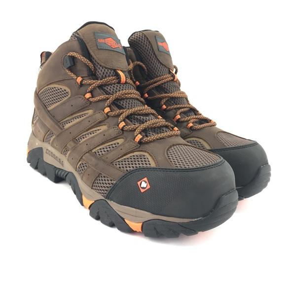fe9cc83b129 Merrell Men Moab Vertex Mid WP Composite Toe Boots NWT